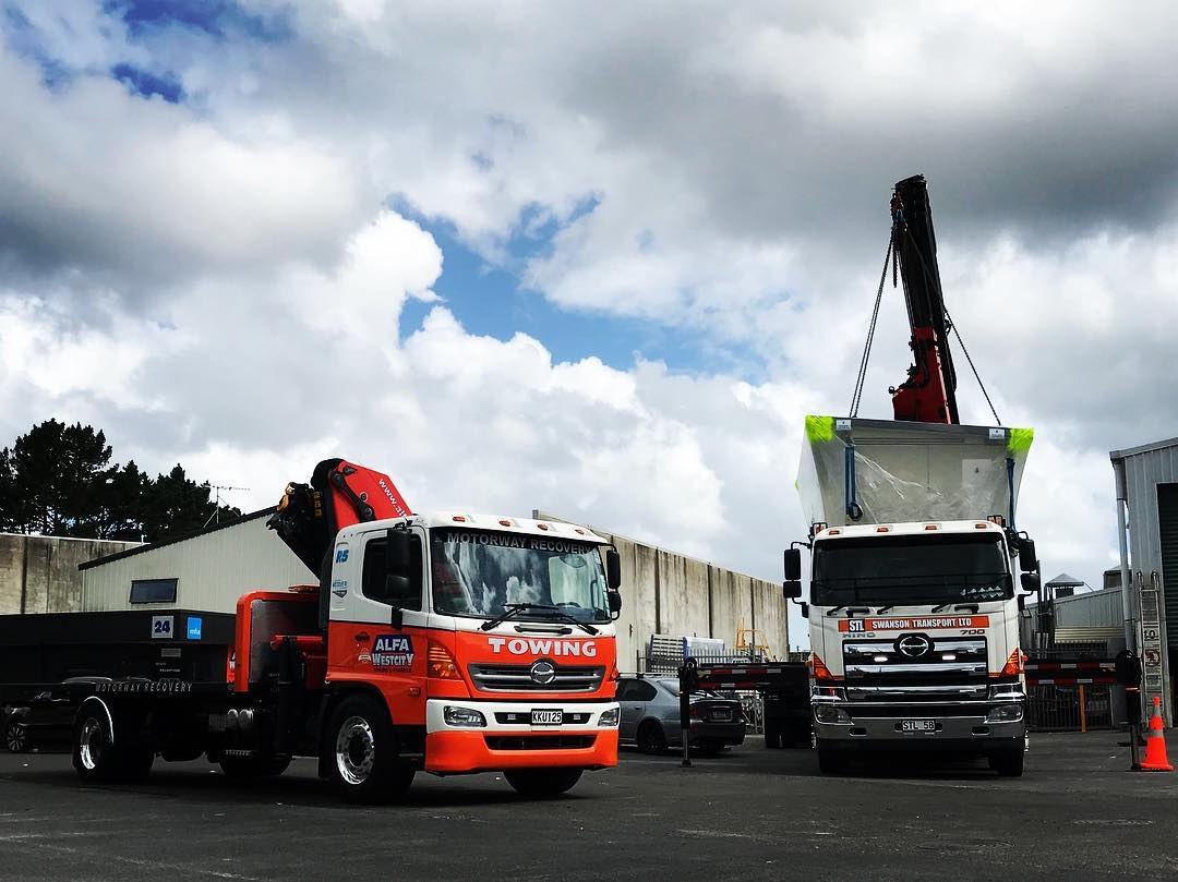 Alpha Westcity & Swanson Transport - 500 & 700 Series - Hino's Working Together
