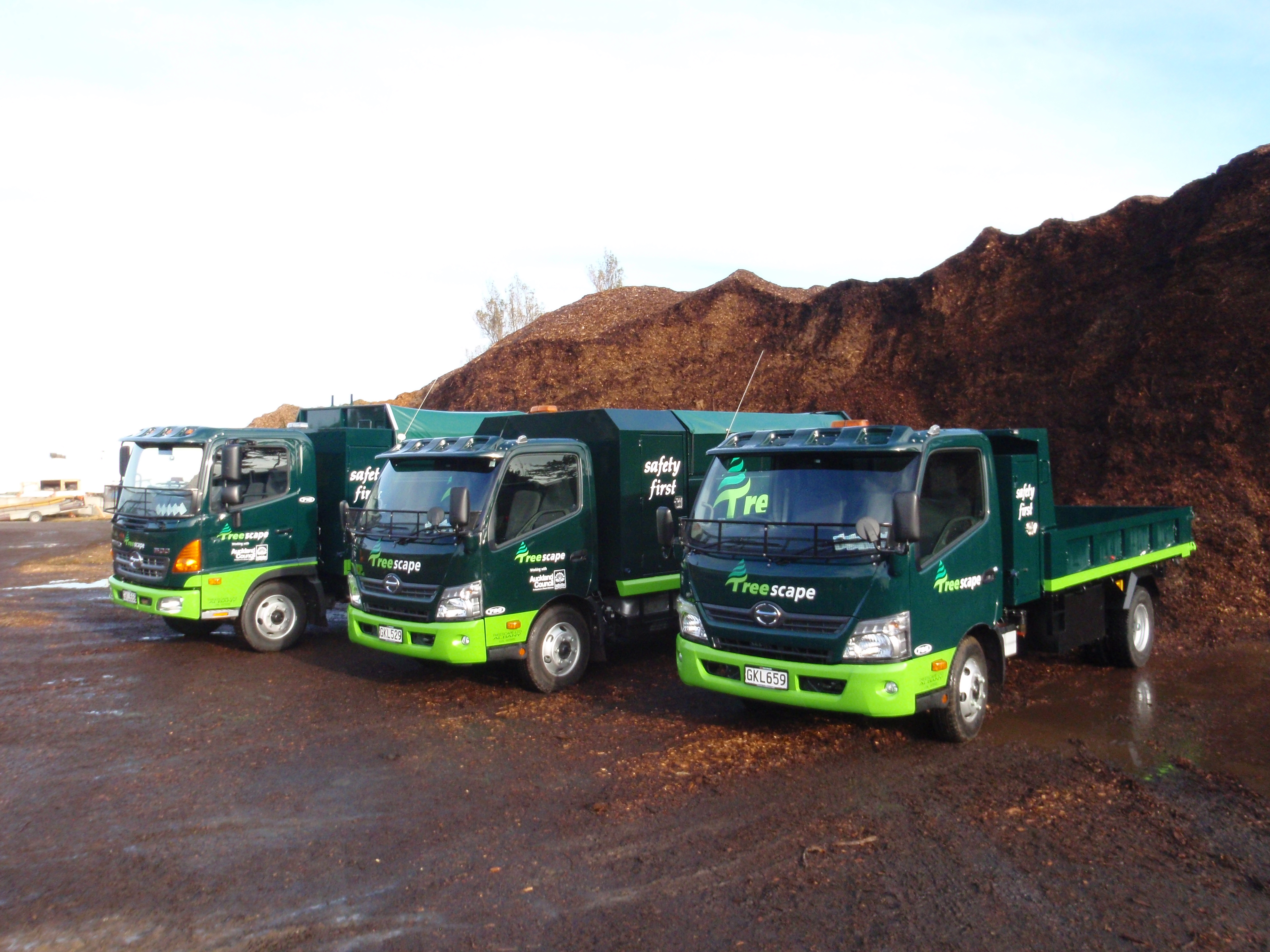 Treescape - 300 & 500 Series Tipper & Utility