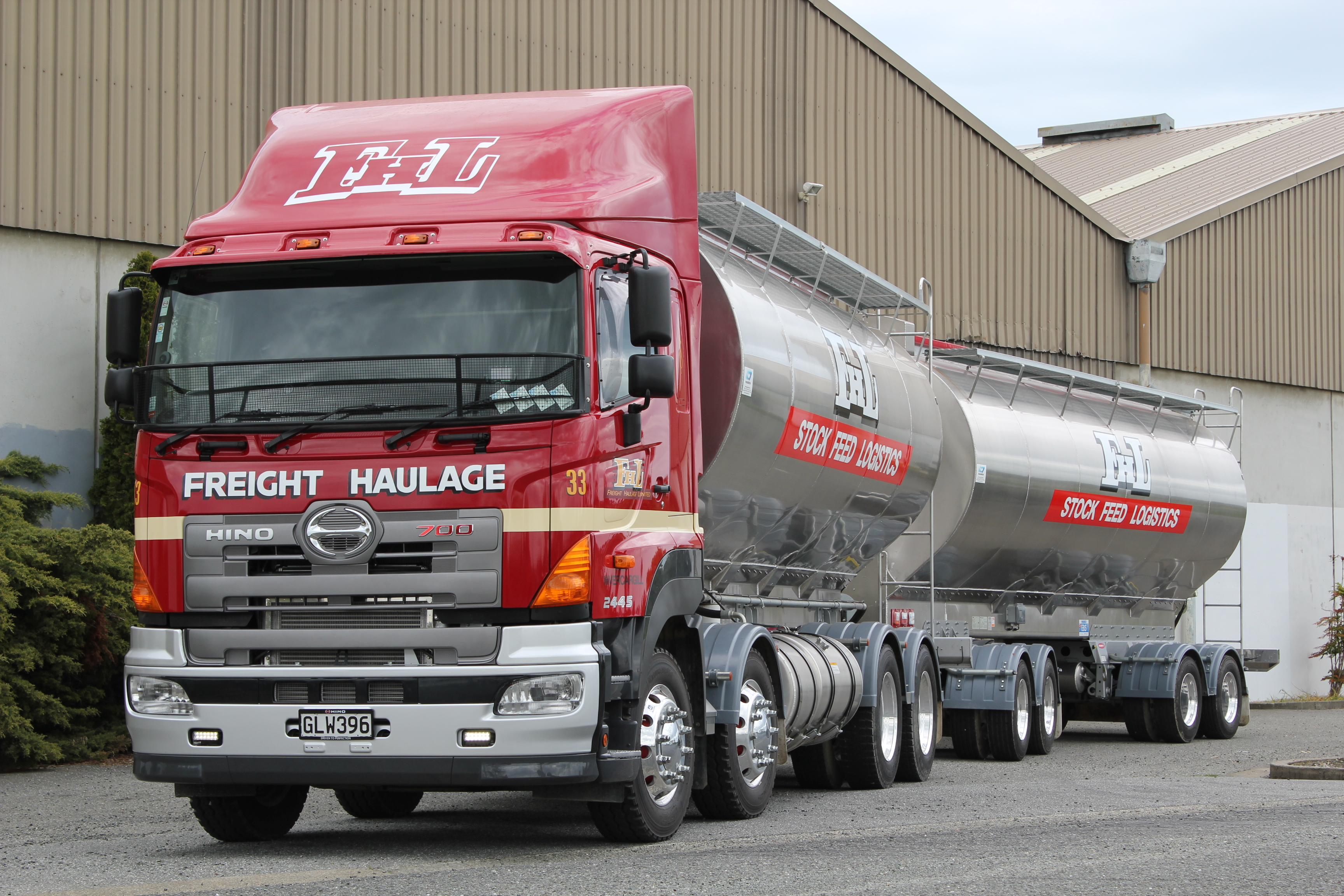 Freight Haulage - 700 Series FY1E 450hp