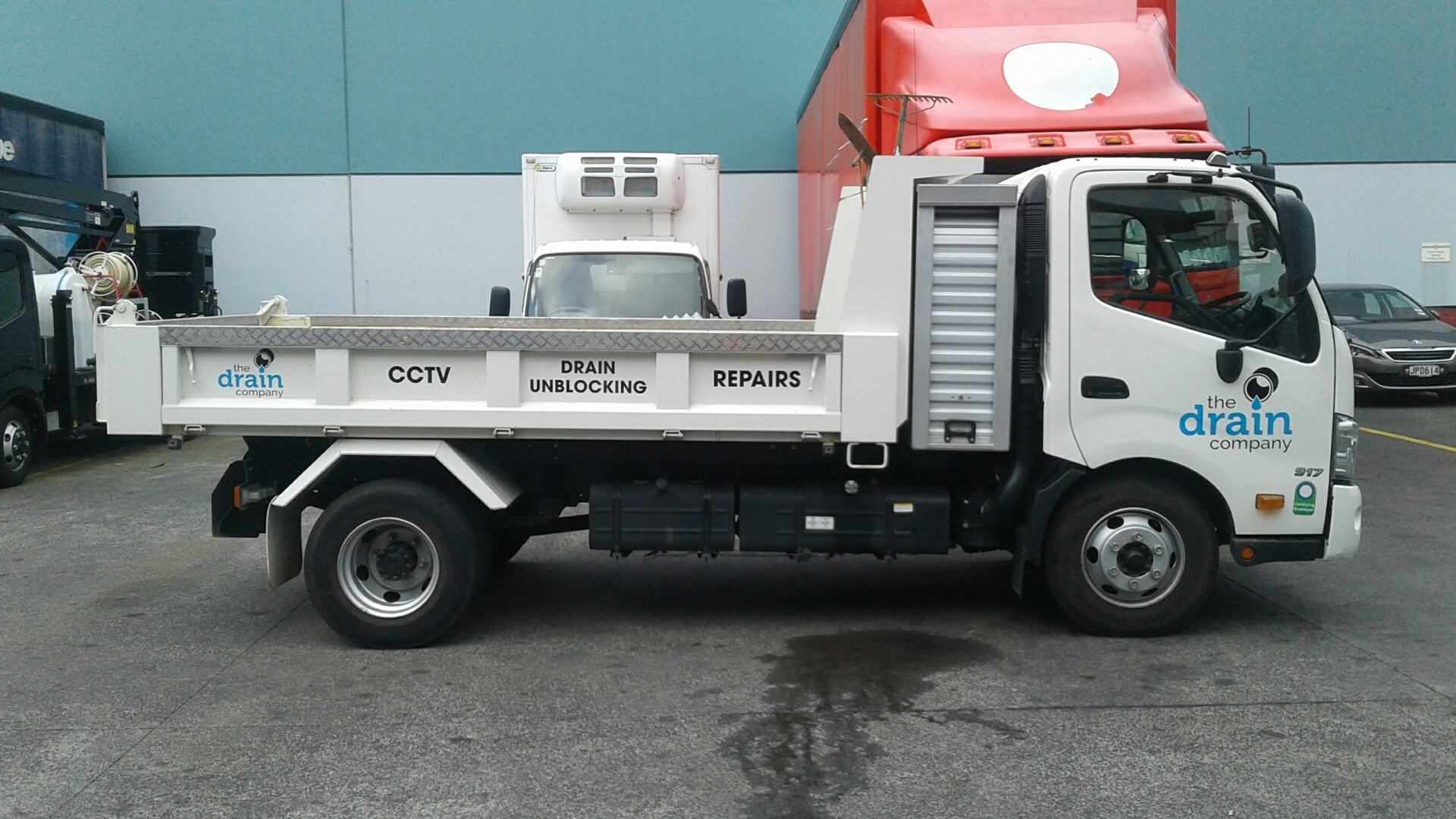 The Drain Company - 300 Series 917 Tipper