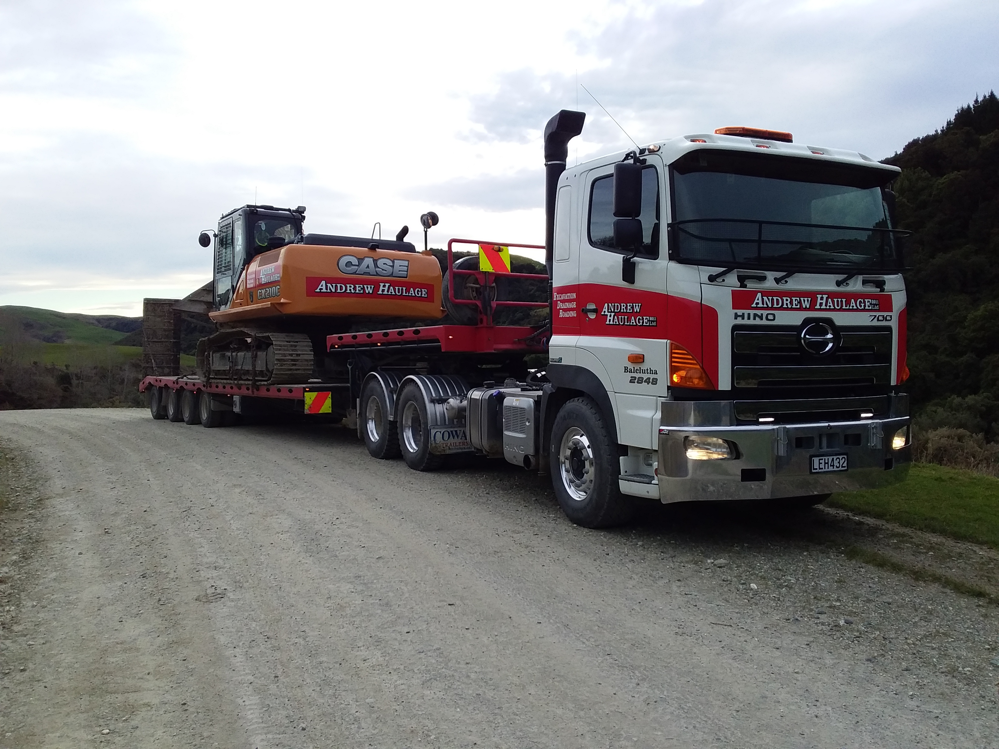 Andrew Haulage - 700 Series FS2848 Proshift Air Dana Rear Bogie - Hydraulic Retarder