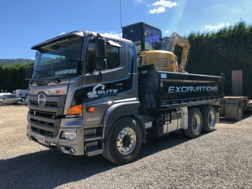 Elite Excavations - 500 Series Wide Cab Tipper